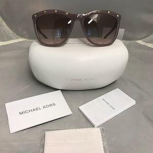 Michael Kors Las Vegas pink bling sunglasses new